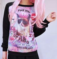 Grumpy Cat Sweater!