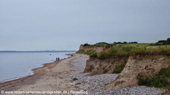 Steilküste Ostsee in Schönhagen http://www.reisen-sehenswuerdigkeiten.de