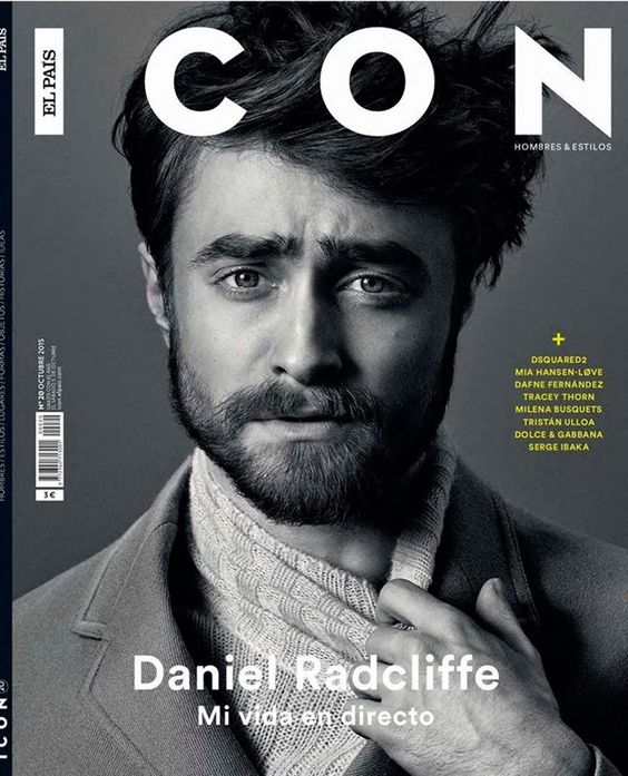 ICON MAGAZINE Daniel Radcliffe by Michael Schwartz. Fall 2015, www.imageamplified.com, Image Amplified (1)