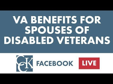 Va Benefits For Spouses Of Disabled Veterans Youtube Va