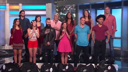 Big Brother 2016 -blurb, Season 18, episode aired week 7/14/16. Very strange eviction.