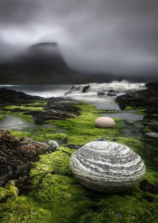 La Isla de Skye , situado en la costa oeste de Escocia