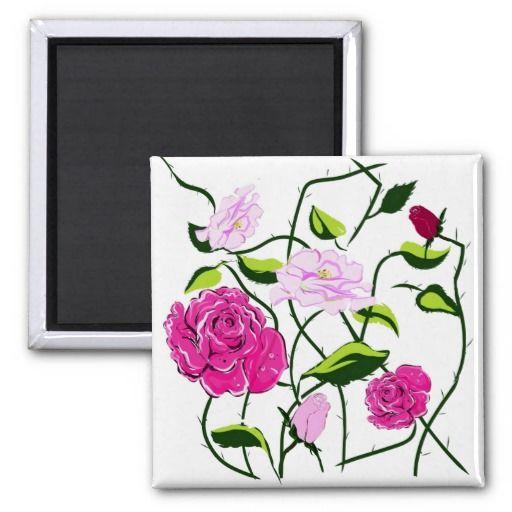 Magnet Rose,magnetic Rose Kühlschrankmagnet