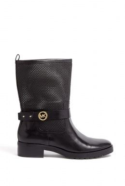 Daria MK Buckled Flat Boots by Michael Michael Kors
