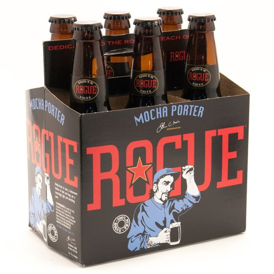 Bia Rogue Mocha Porter 5,6% - Chai 330ml