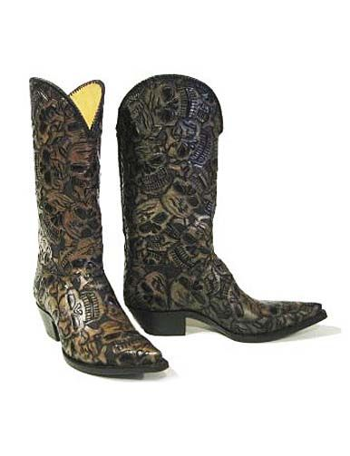 The 62 Muertos. These cowboy boots are from Boot Star, each boot ...