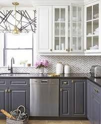 10 Fabulous Two Tone Kitchen Cabinets Ideas Samoreals Kitchen Design Kitchen Cabinets Decor Two Tone Kitchen Cabinets