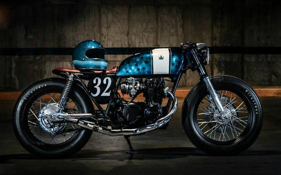 Readers rides: CB Kobra by Nils | Inazuma café racer