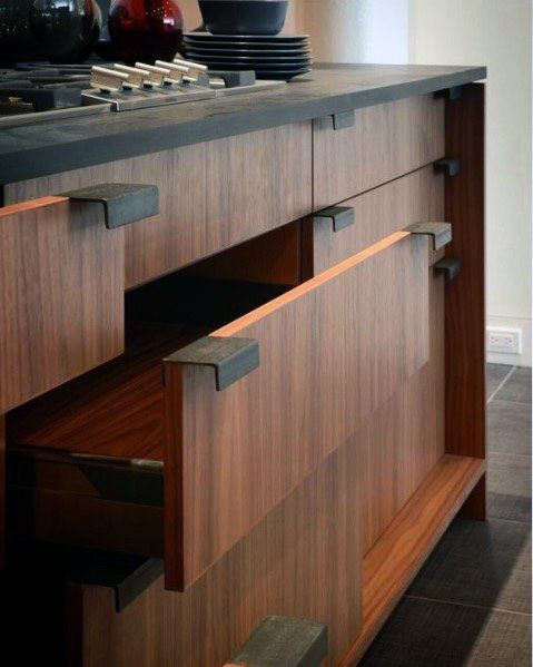 Make Your Kitchen Modern And Unique With These Amazing Drawer Handles Hardwareje With Images Contemporary Kitchen Cabinets Kitchen Cabinet Hardware Kitchen Cabinet Design