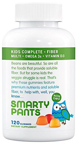 Smartypants kids complete and fiber gummy vitamins for Fish oil for toddlers speech delay