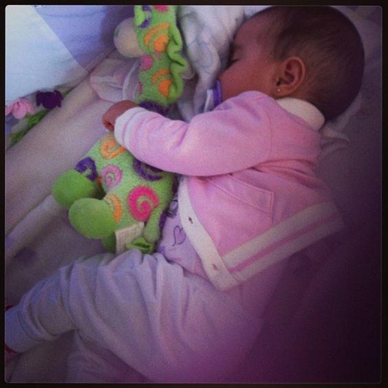 sophia dormindo <3'