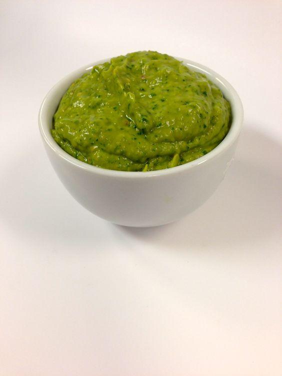 Tomatillo Avocado Salsa - delicious on tortilla chips, tacos, or as a ...