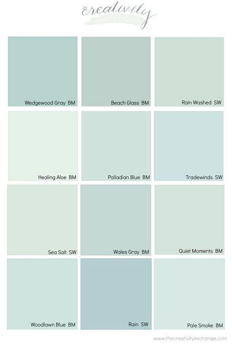 Benjamin Moore Wedgewood Gray Color Spotlightwarm Blue Paint
