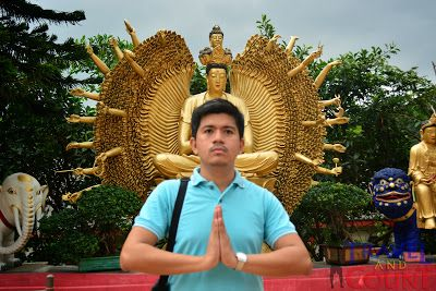 It's what I call the Buddha with many hands @ Sha Tin Hong Kong #travel, #ttot, #backpacker