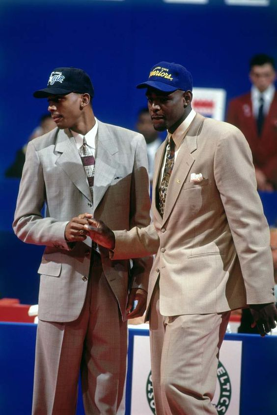 June 30, 1993 - Orlando selected Michigan forward Chris Webber with the first pick in the 1993 NBA Draft, held before 15,324 fans at the Palace of Auburn Hills. The Magic, however, traded Webber's rights to Golden State for the third pick in the Draft, Memphis State guard Anfernee Hardaway and three future first round draft picks. Philadelphia tabbed 7-6 center Shawn Bradley from Brigham Young with the second overall pick.