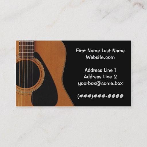 Musician Business Card Zazzle Com Musician Business Card Music Business Cards Musician
