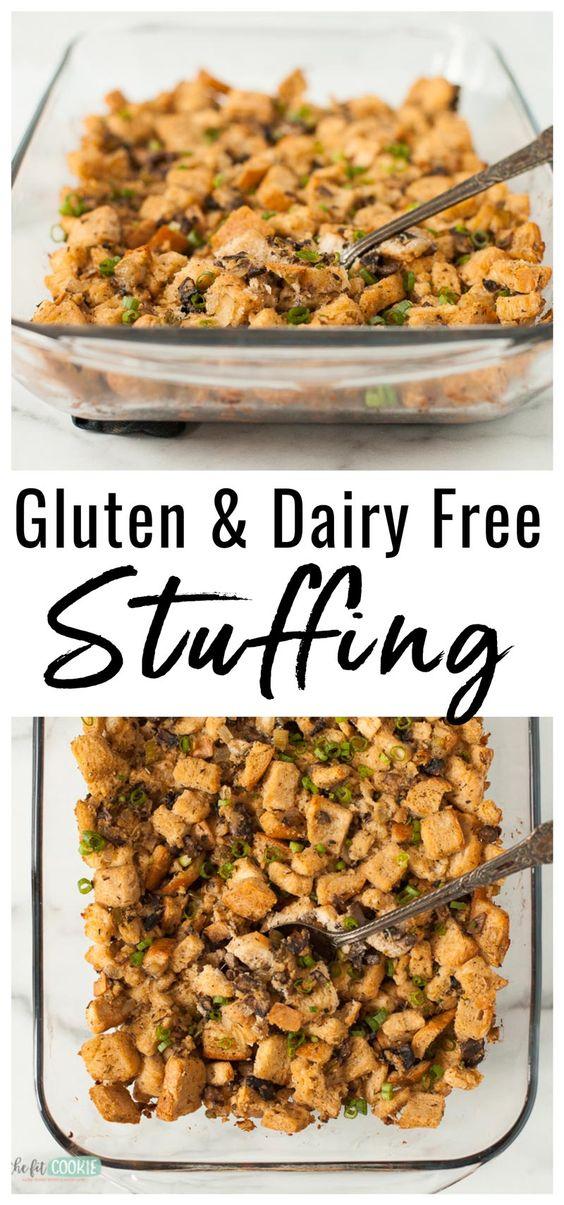 Homemade Gluten Free Stuffing (Dairy Free)