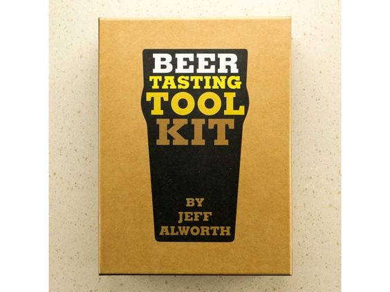 What a neat idea! The Beer Tasting Tool Kit - everything to host a beer-tasting party.