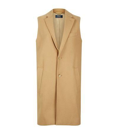 POLO RALPH LAUREN Sleeveless Coat. #poloralphlauren #cloth #