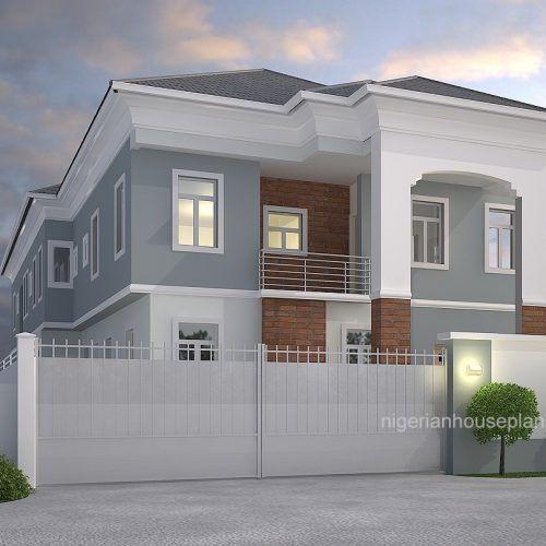 4 Bedroom Duplex 2 Bedroom Flats 4015 Duplex House Plans Duplex House Design Duplex House
