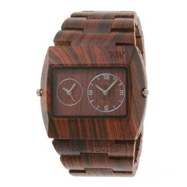 I got BSB a wooden watch last year. I think they look so cool and are a nice dressy option for a guy that doesn't do flashy. Wewood Men's Limited Edition Jupiter Brown Dual Movement Wooden Watch: Watches: Amazon.com