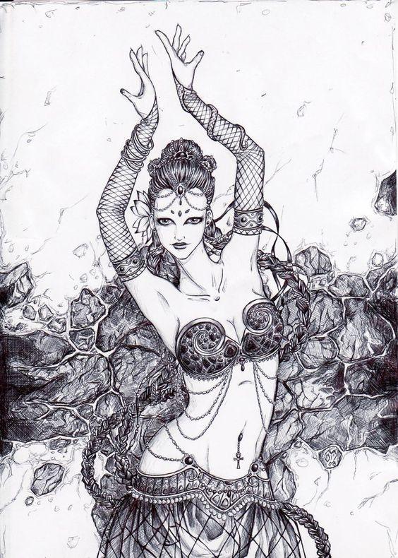 Dancer by SpiralDanceStudio.deviantart.com on @deviantART
