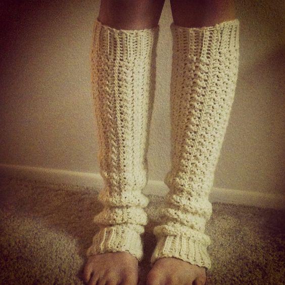 awesome crochet legwarmers | chaussures et pantoufles | Pinterest ...