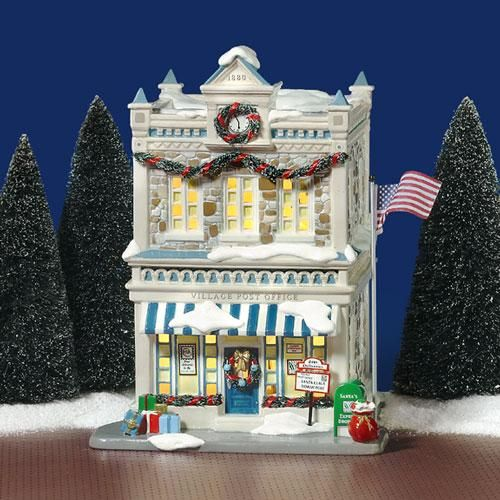Dept 56 Christmas 2021 Christmas Time Post Office In 2021 Snow Village Department 56 Christmas Village Christmas Village