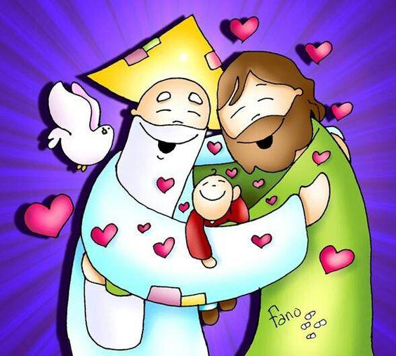 Padre, hijo & espiritu santo...