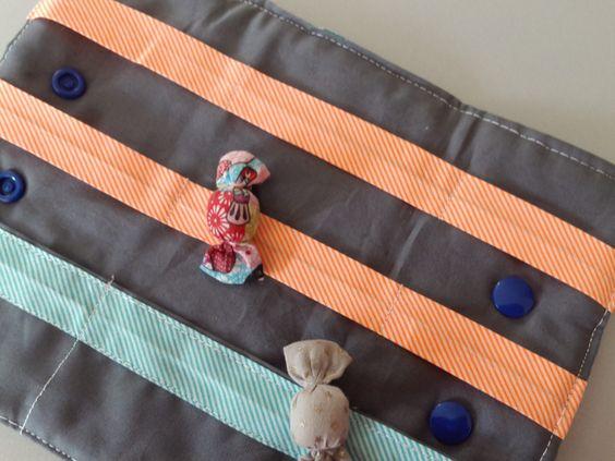 Range barrettes popeline et coton molletonné : Puériculture par ma-choupinette