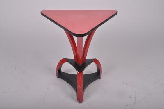 Fall 2012 Shipments - Side Table with Veneer Top and Metal Base