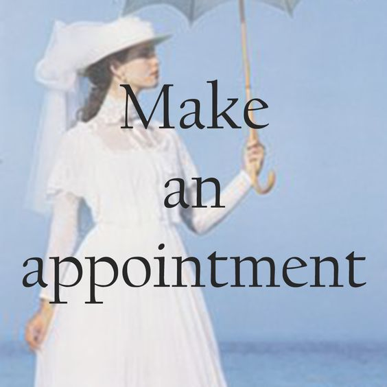 Vintage wedding dresses by appointment. Laura Ashley