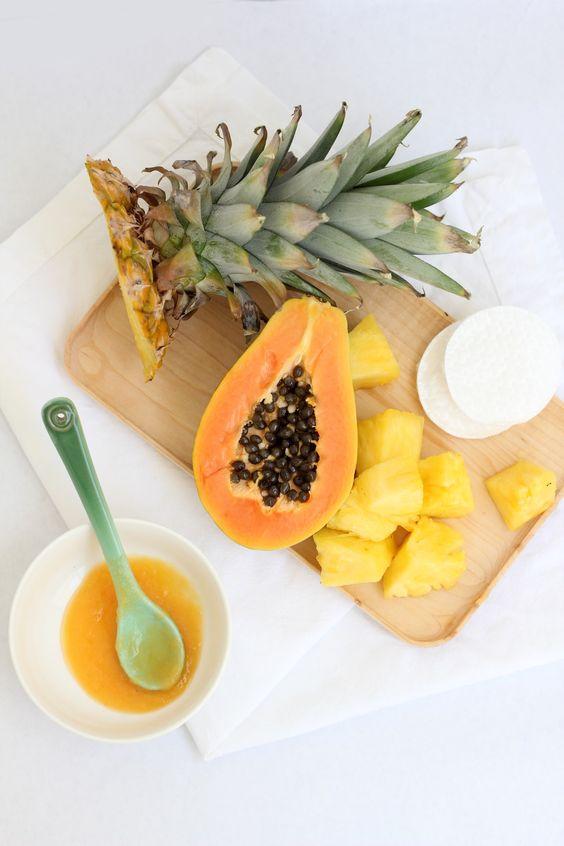 Ingrijirea corpului scrub cu ananas pentru piele sensibila