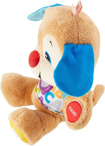 Fisher Price Laugh Learn Smart Stages Puppy Plush Toy Brown