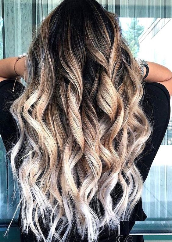 48 Balayage Ombre Hair Colors For 2019 With Images Honey
