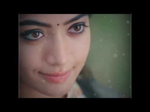 Sara Sari Whatsapp Status Rashmika Nithin Bheeshma Status Youtube In 2020 Status Love Failure Love Status
