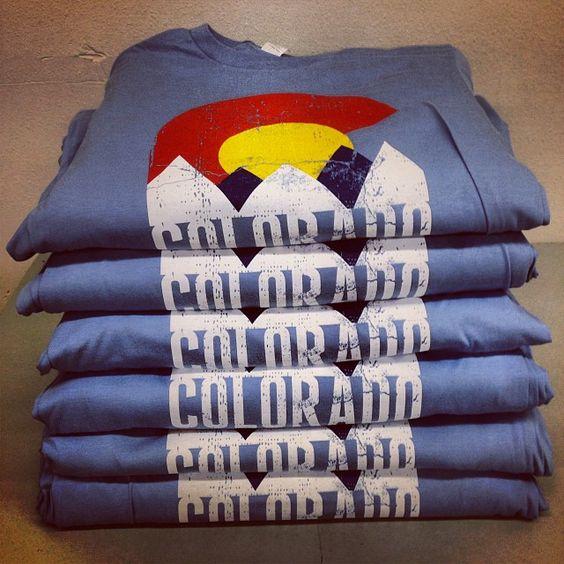 For all the #colorado peeps @denversdirty #fashion #apparel #printing #superiorink #printing #design