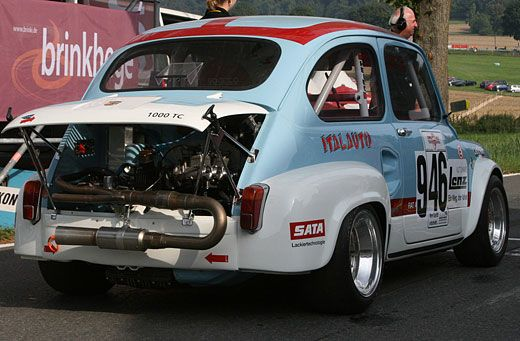 Fiat 600 Abarth Race Fiat 600 Pinterest Fiat 600