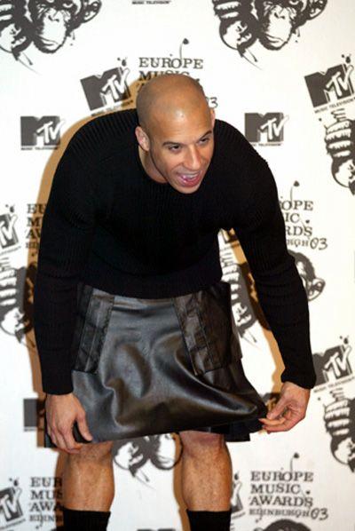 Vin Diesel In A Skirt 114