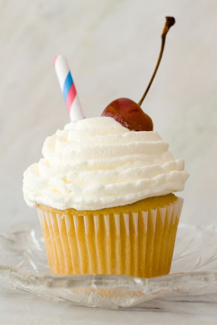 Vanilla Malt Cupcakes ~ Cupcake Project