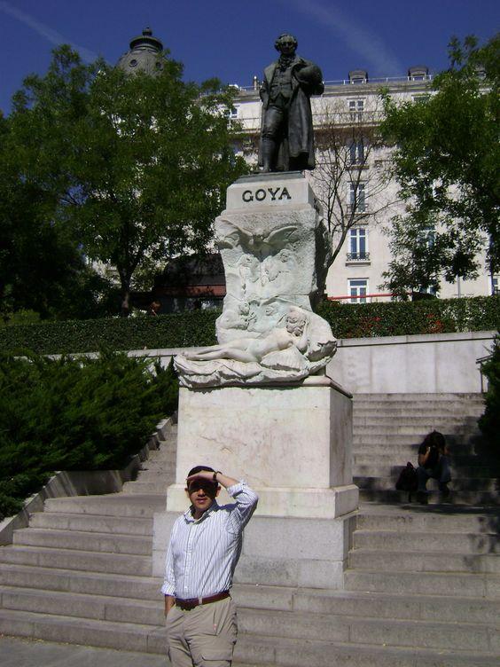 Maja Desnuda, estatua de Goya, Museo del Prado, Mariano Benlliure. 1902