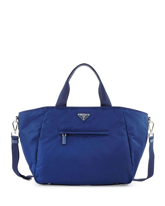 buy prada purses - http://www.neimanmarcus.com/Prada-Nylon-Tote-Bag-with-Strap-Blue ...