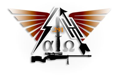 Logo Academia de Tiro Long Range precision rifle