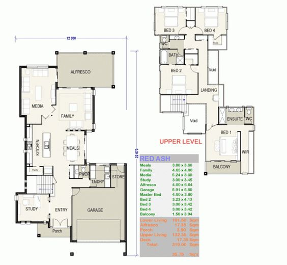 House plans Home design and Building on Pinterest