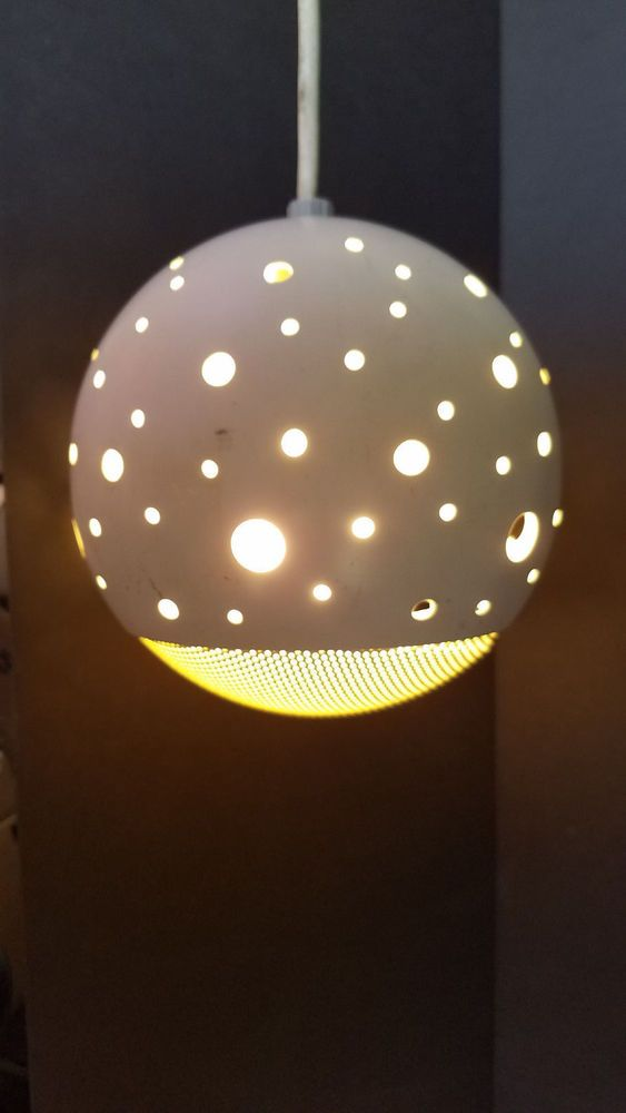 Round Metal Cut Out Standing Light