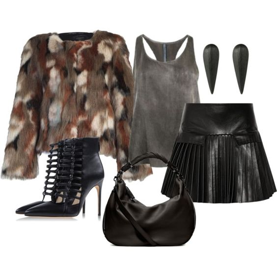 House Of Fraser's Aftershock Robyn Faux Fur Jacket