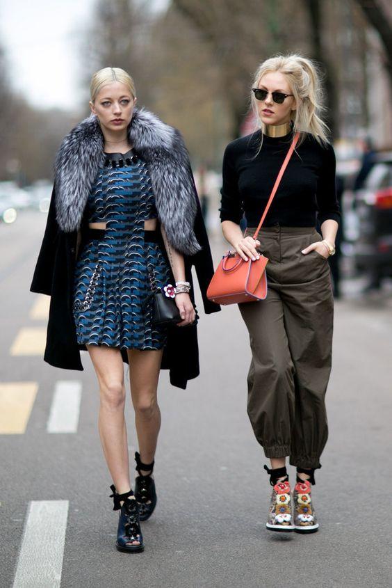 Milan Fashion Week Street Style Fall 2016.: