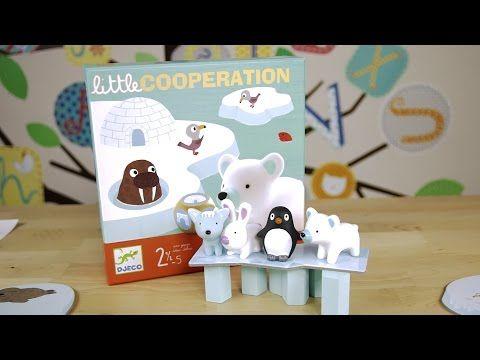 Djeco Little Cooperation Gra - YouTube
