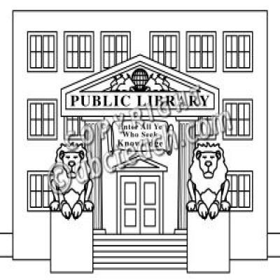 Library Building Clipart Black And White Letters Format In Library Building Clipart Black And White 34718