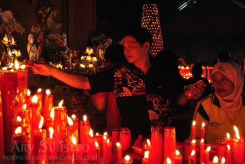 Imlek At Sanggar Agung Temple Chinese New Year Pinterest Temples